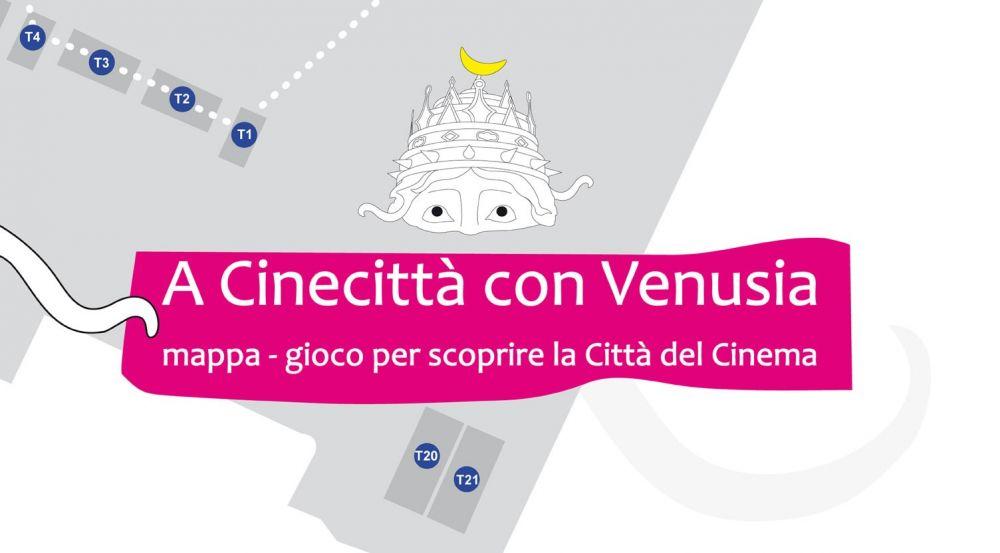 A Cinecittà con Venusia