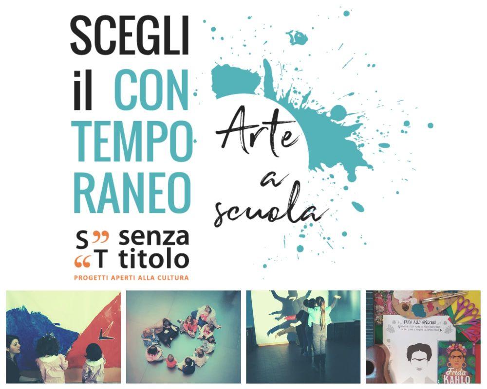 Scegli il Contemporaneo - Arte a scuola 2019-20: laboratori didattici a scuola e visite al museo