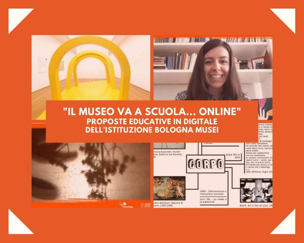 Didattica a distanza tra scuola e museo: proposte educative in digitale per l'arte contemporanea