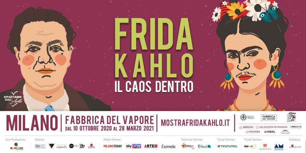 Il mondo di Frida Kahlo in mostra a Milano