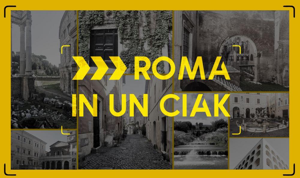 Roma in un ciak: visite guidate e animate in città all'insegna del cinema