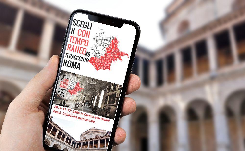 Arriva la web app di Scegli il Contemporano: la visita al museo diventa virtuale