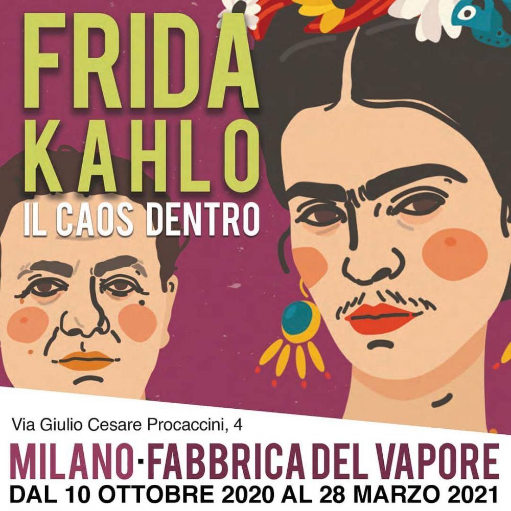 Attività per scuole, famiglie e adulti alla mostra Frida Kahlo. Il caos dentro