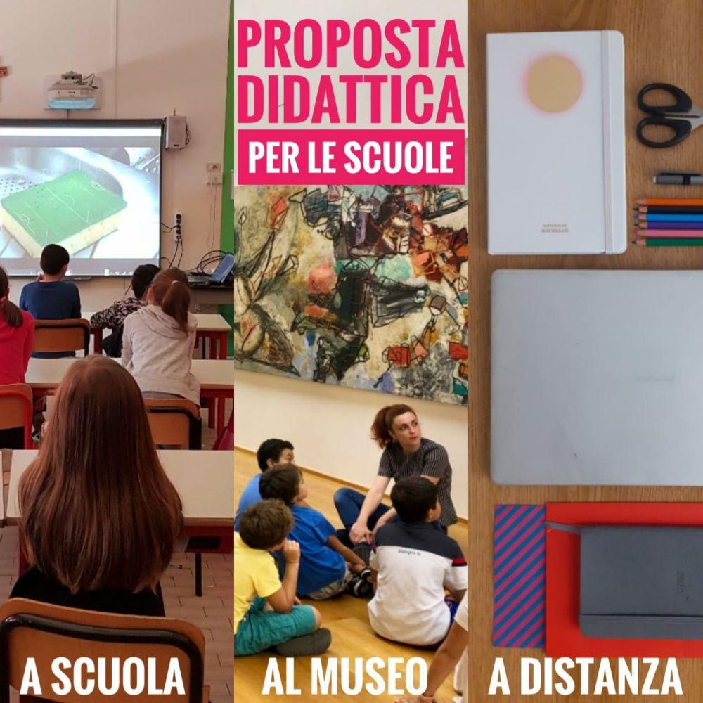 Scoprire l'arte contemporanea al museo, a scuola e a distanza