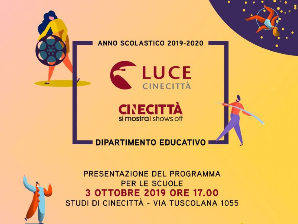 Educational a Cinecittà si Mostra