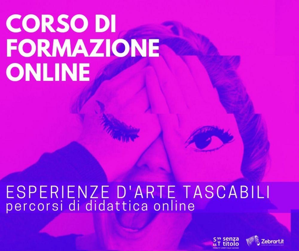 Didattica in presenza e in digitale: arriva il nuovo corso online per la formazione in didattica dell'arte
