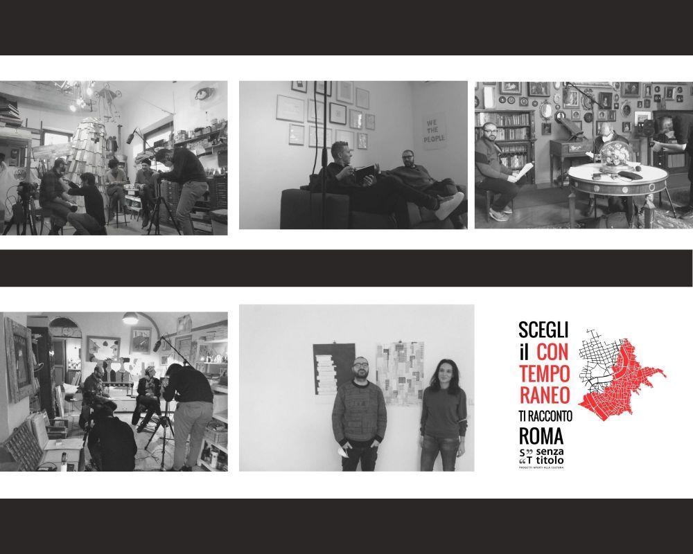 Ti racconto Roma:una narrazione in digitale della produzione artistica contemporanea