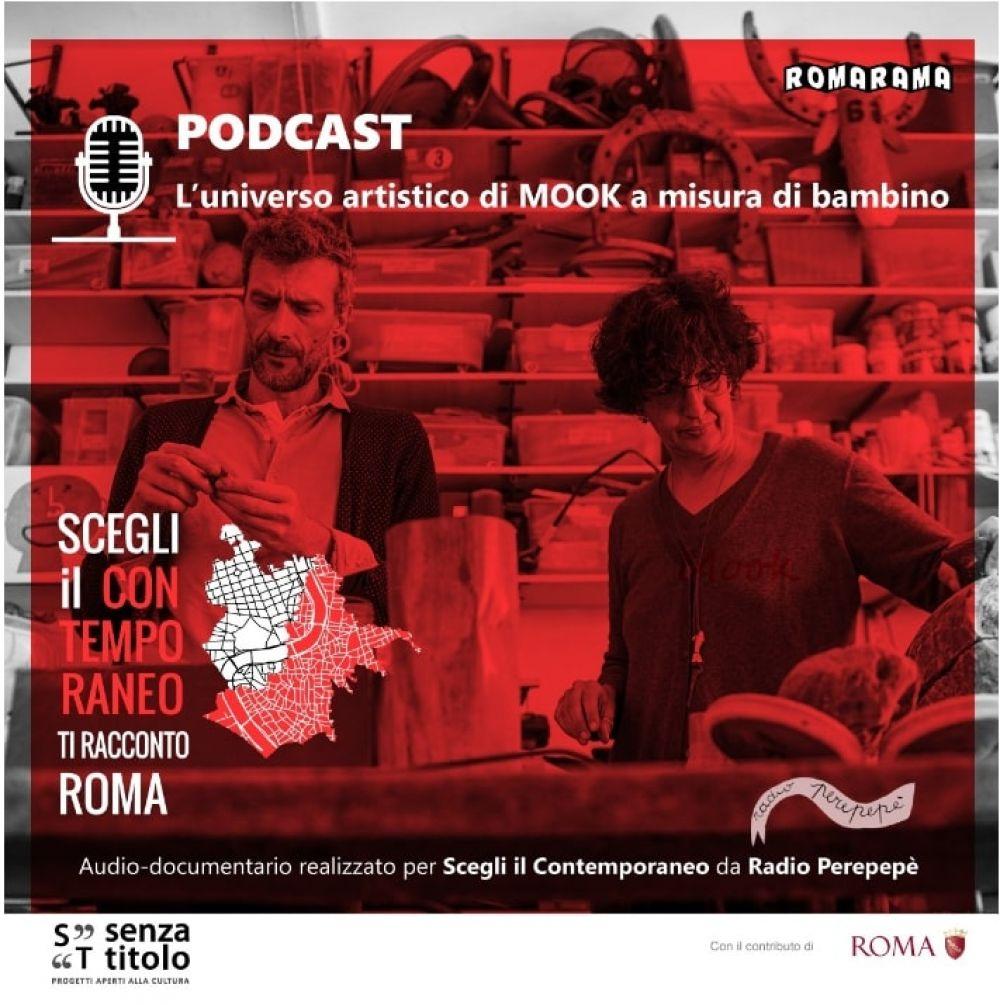 Arte in podcast: l'universo artistico di Mook a misura di bambino