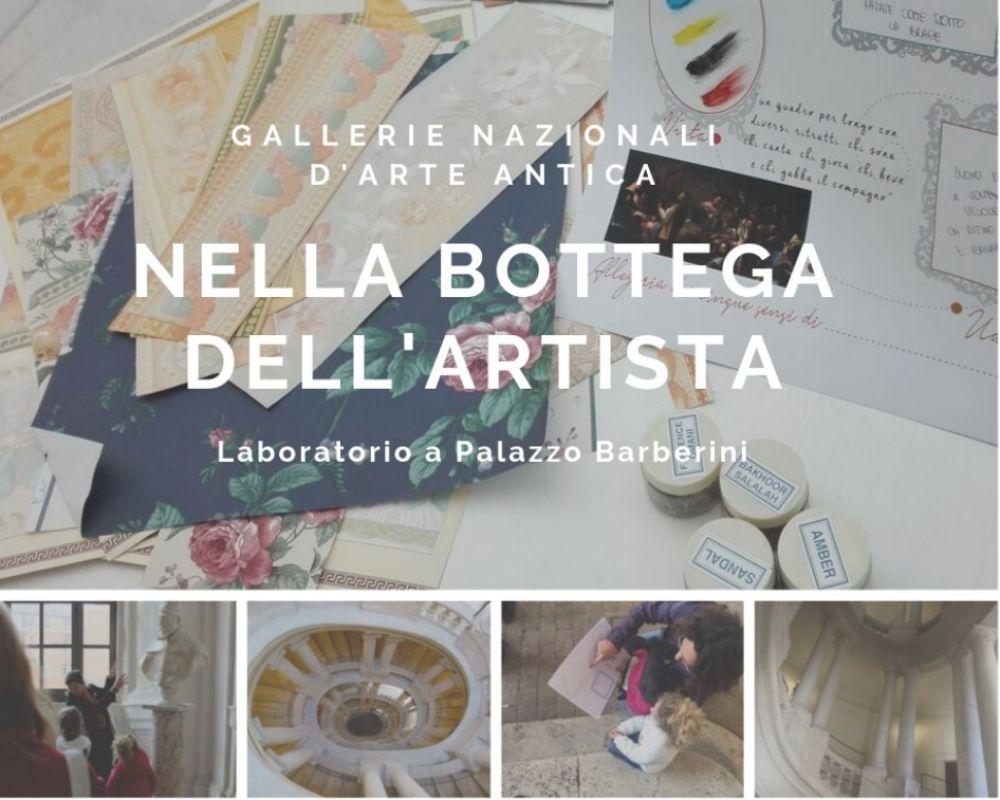 Nella bottega dell'artista: attività gratuite per bambini a Palazzo Barberini