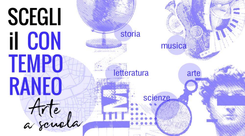 Laboratori didattici a scuola, visite guidate e animate al museo per la nuova edizione di Scegli il contemporaneo - Arte a scuola